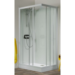 Kinedo Kineprime Glass douchecabine m/schuifdeur 90x208+therm. wit-helder Wit CA702TTN