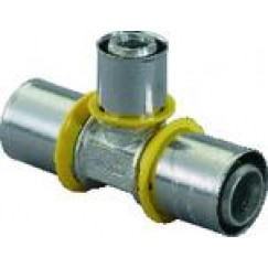 Uponor  gas pers t-stuk 25x20x20  1030569
