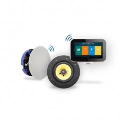 Aquasound  n-joy music-center controller m/lader+move set 70w Wit IRS70PRO-M