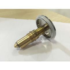 Guo  plug voor badoverloop a1040-c Chroom