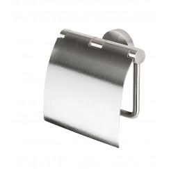 Geesa Nemox closetrolhouder met klep stainless steel Stainless Steel 916508-05