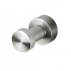 Geesa Nemox handdoekhaak enkel stainless steel Stainless Steel 916513-05