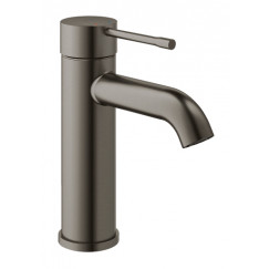 Grohe Essence New s-size wastafelkraan zonder waste hard graphite gb Hard Graphite Geborsteld 23590AL1