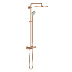 Grohe Euphoria xxl douchesysteem 310 m/thermostaat warm sunset gb Warm Sunset Geborsteld 26075DL0