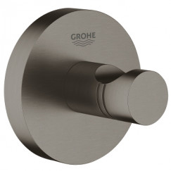 Grohe Essentials handdoekhaak hard graphite Hard Graphite 40364AL1