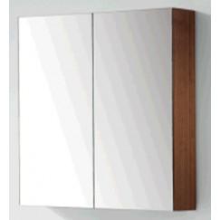 Novio Gino spiegelkast 80 cm met 2 deuren donker eiken Donker Eiken