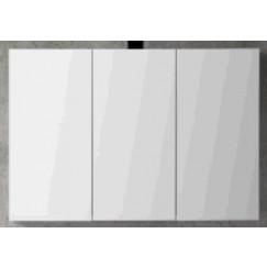 Novio Gino spiegelkast 120 cm met 3 deuren donker eiken Donker Eiken