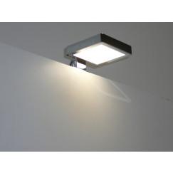 Novio Ivo led verlichting spiegel-spiegelkast 10x9x2 chroom Chroom