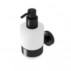 Geesa Nemox Black dispenser 200 ml. mat zwart Mat Zwart 916516-06
