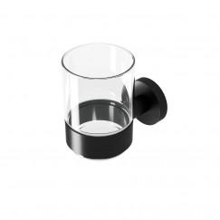 Geesa Nemox Black glashouder mat zwart Mat Zwart 916502-06