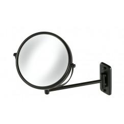 Geesa  spiegel 1-armig mat zwart Mat Zwart 911085-06