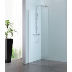 Novio Free Mix walk-in 120x200 cm. chroom-helder clean Chroom