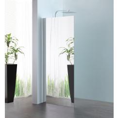 Novio Free Mix walk-in 100x200 cm. chroom-spiegelglas Chroom Spiegelglas