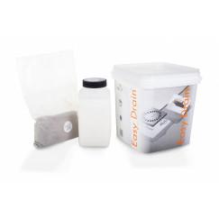 Easydrain Easy2seal hechtings- afdichtingspasta voor douchegoot 1,5 kg  E2S-2K-K