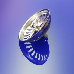 Viega  gootsteenzeefje m/knop 40,5 mm