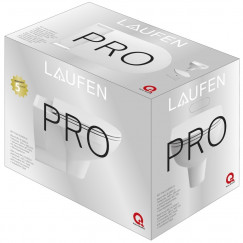 Laufen Pro pack wandcloset+slimseat zitt.softclose m/tape wit Wit H8669500000001