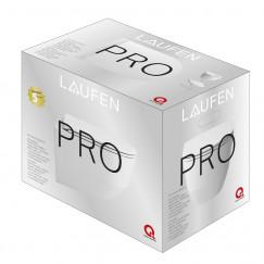 Laufen Pro pack wandcloset verkort rimless diepspoel wit Wit H8669550000001