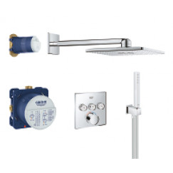 Grohe Smartcontrol perfect showerset compleet chroom Chroom 34712000
