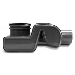 Easydrain  sifon met waterslot 50 mm. zwart Zwart SPAXS01