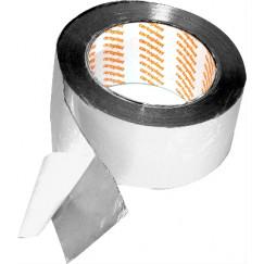 De Beer  aluminium tape 50mm. 50 mtr. rol Aluminium 938178001