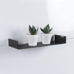 Looox Shelf inbouw planchet 30x10 cm. mat zwart Mat Zwart CSHELF30MZ