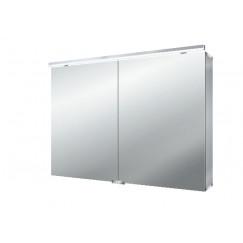 Emco Asis Pure Led led lichtspiegelkast m/wastafelverlichting 100cm.