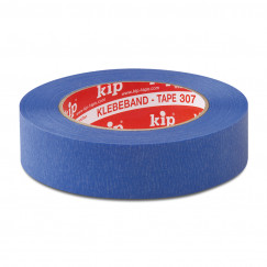 Kip  masking tape voor buiten 25 mm. rol 50 m. blauw Blauw 307-23
