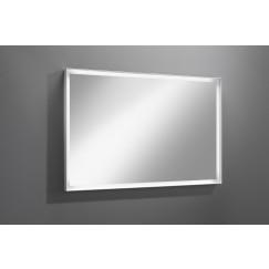Novio Wessel spiegel 120x80cmled verlichting rondom dimmer wit Wit