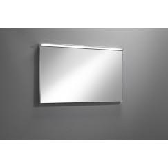 Novio Liam spiegel 80x60cm m led verlichting en dimmer zilver Zilver