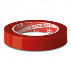 Kip  montageband 3891-18 19 mm. rol 5 m. rood Rood 3891-18