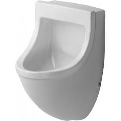 Duravit Starck 3 urinoir met aan-afvoer verdekt Wit 0821350000