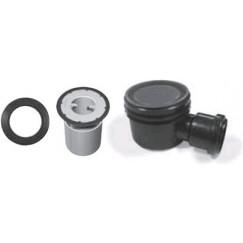 Aco Flexdrain E puthuisset compl.met put-ring-stankslot zwart Matzwart 406042.compl