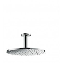 Hansgrohe Raindance Select P 1jet powderrain hoofddouche m/plafondaansluiting