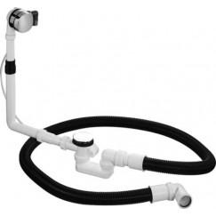 Duravit  badwaste kabellengte 65 cm. Chroom 790292000001000