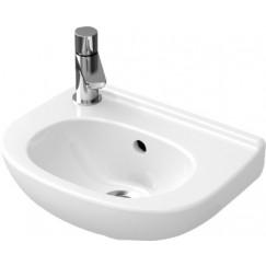 Villeroy & Boch O.novo fontein 36x27,5 kraangat links wit Wit 53603901