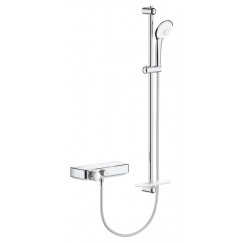 Grohe Grohtherm Smartcontrol perfect showerset chroom Chroom 34721000