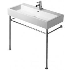 Duravit Vero metalen console voor wastafel chroom 10 Chroom 30671000