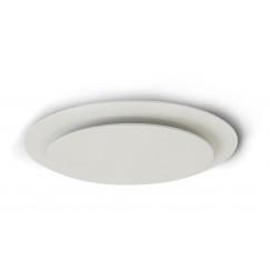 Vasco Ventilatie luchtventiel dubbel rond met smiley wit s600 Wit S600 11VE30150