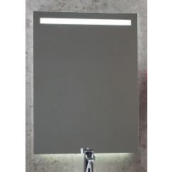 Novio Led Line spiegel 60x80 met sensor+indirecte verl.baan boven