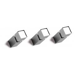 Vasco Carre knop vierkant voor radiator chroom Chroom 118350000000099