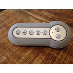 Villeroy & Boch Comfort Control afstandbediening voor cleanpool grijs-wit Grijs Wit UPCOM0035