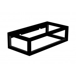 Novio Liam frame voor fontein 40x22 cm. mat zwart Mat Zwart