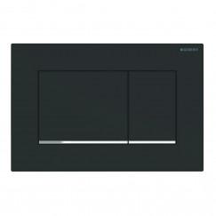 Geberit Sigma 30 bedieningsplaat mat zwart Mat Zwart 115.883.14.1