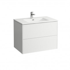 Laufen Pro S meubelset 80x61 1 kraangat mat wit Mat Wit H8649612601041