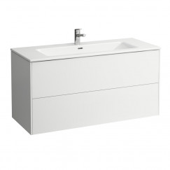 Laufen Pro S meubelset 120x61 2 kraangaten wit Wit H8649632611071