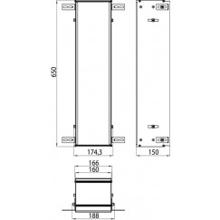 Emco Asis Module module montageraam voor module aluminium Aluminium 015-2039
