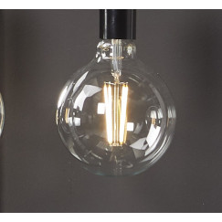 Novio Liam led lamp e27 3000k 380l bol 125 mm warm wit Warm Wit
