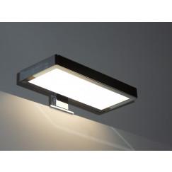 Novio Ivo led verlichting voor spiegel(-kast) 20x9x2 zwart Zwart
