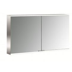 Emco Asis Prime 2 led 120cm spiegelkast opbouw aluminium Aluminium 949705046
