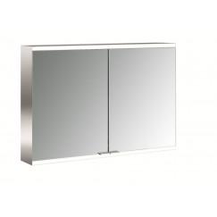 Emco Asis Prime 2 led 100cm spiegelkast opbouw aluminium Aluminium 949705145